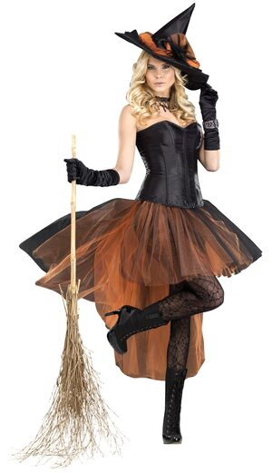 Sexy Bedazzled Witch Costume