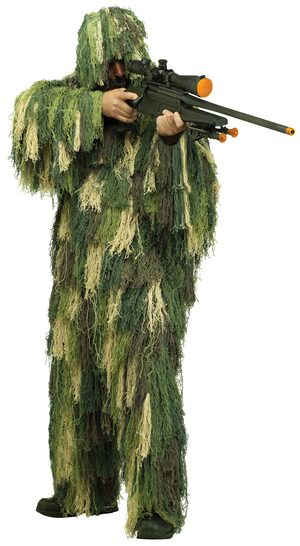 Military Ghillie Suit Adult Costume