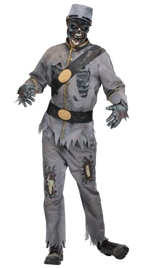 Confederate Zombie Adult Costume