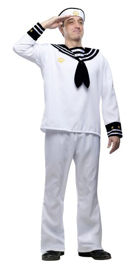 Deckhand Sailor Adult Costume