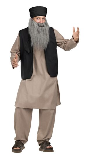 Pashtun Papa Islamic Adult Costume