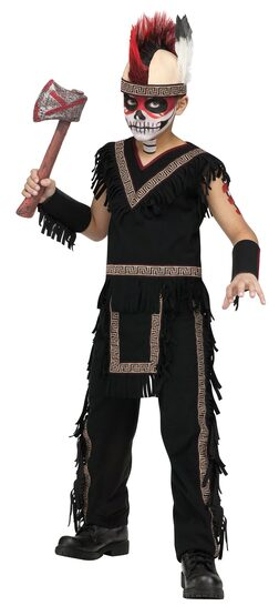 Mighty Indian Warrior Kids Costume