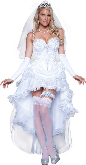 Sexy Blushing Bride Costume