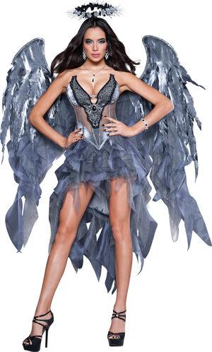 Sexy Dark Angel Desire Costume