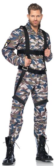 Military Paratrooper Adult Costume