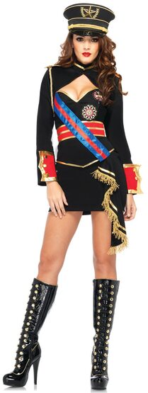 Sexy Diva Dictator Military Costume