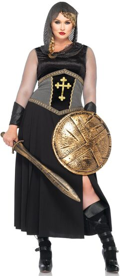 Medieval Joan of Arc Plus Size Costume