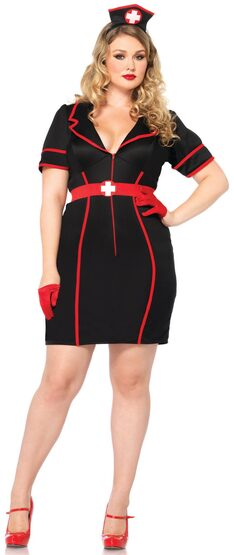Naughty Night Nurse Plus Size Costume