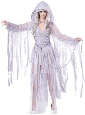 Haunting Beauty Ghost Adult Costume