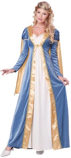 Medieval Elegant Empress Adult Costume