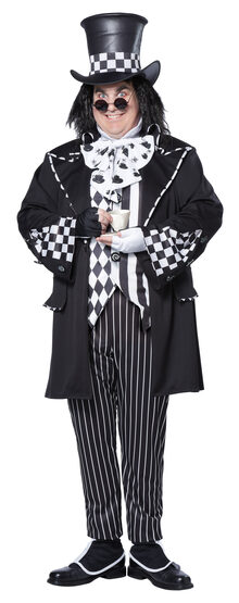 Dark Mad Hatter Plus Size Costume