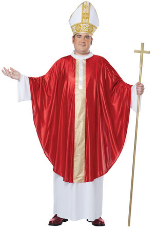 Pope Religious Plus Size Costume