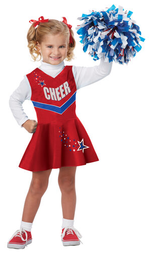 Chipper Cheerleader Kids Costume