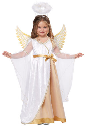 Sweet Little Angel Kids Costume