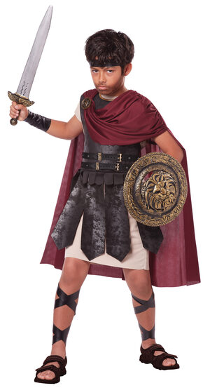 Spartan Warrior Kids Costume