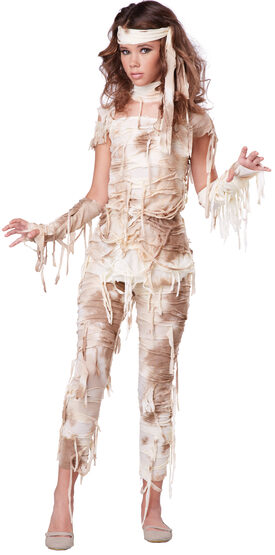 Mysterious Mummy Tween Kids Costume