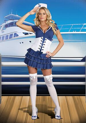 Sexy Sail On Sailor Girl Costume