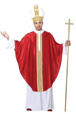 Religious Pope Adult Costume