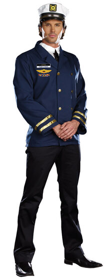 Captain Hugh G. Vessel Sailor Adult Costume