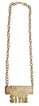 Gangnam Style Necklace