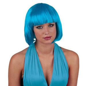 Short Blue Wig