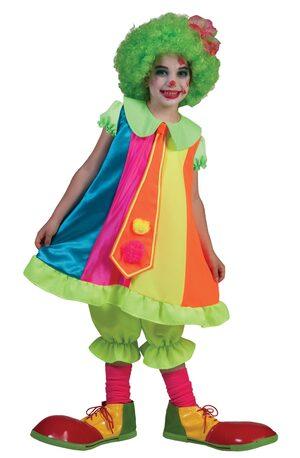 Dainty Clown Kids Costume