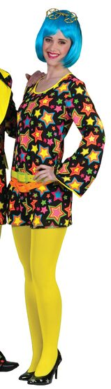 Funky Star Retro Adult Costume