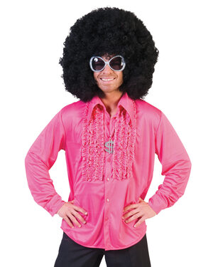 Funky Pink Party Shirt Adult Costume