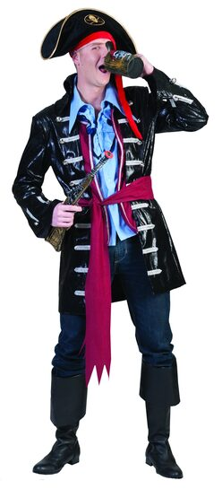 Captain Mo Pirate Adult Costume