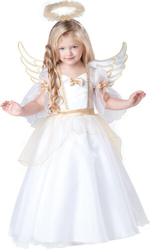 Angelic Angel Toddler Kids Costume