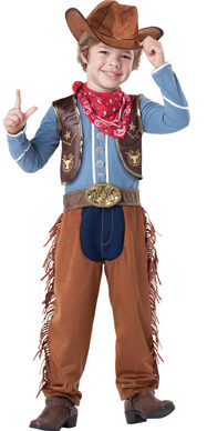 Cattleman Cowboy Kids Costume