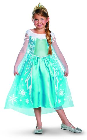 Disney Frozen Princess Elsa Kids Costume