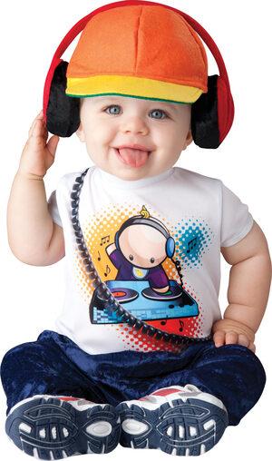 Baby Beats DJ Baby Costume