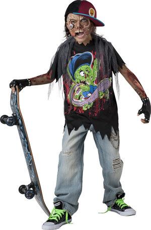 Zombie Skater Kids Costume