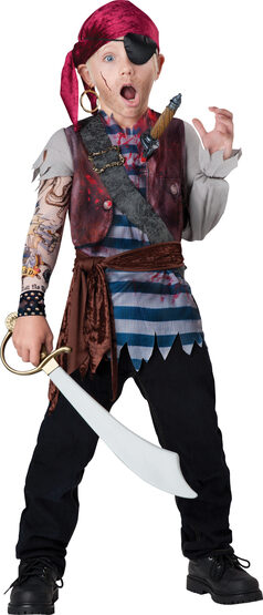 Dead Man's Chest Pirate Kids Costume