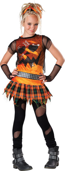 Punk 'N Pumpkin Teen Costume