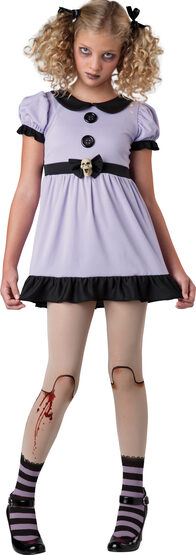 Dead Dolly Rag Doll Kids Costume