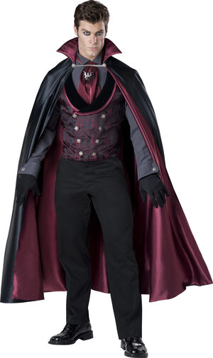 Midnight Count Vampire Adult Costume