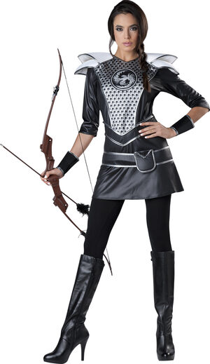 Hunger Game Huntress Adult Costume