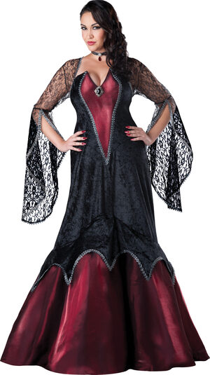 Piercing Beauty Vampiress Adult Costume