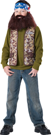 Duck Dynasty Willie Kids Costume