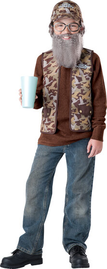 Duck Dynasty Uncle Si Kids Costume