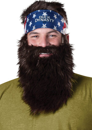 Duck Dynasty Willie Accessory Set Wig