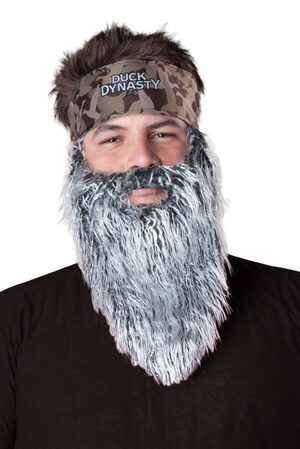 Duck Dynasty Phil Accessory Set Wig
