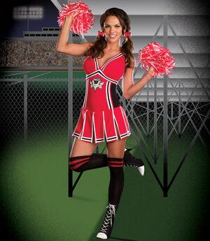 Sexy Gotta Score Cheerleader Costume