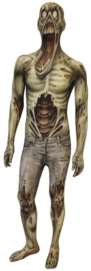 Zombie Morphsuit Kids Costume