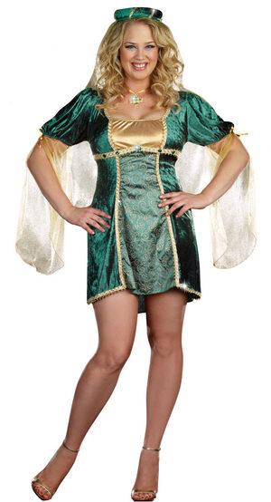 Sure Wood Renaissance Plus Size Costume
