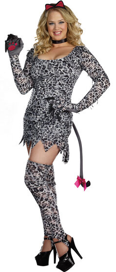 Cat Fight Kitty Plus Size Costume