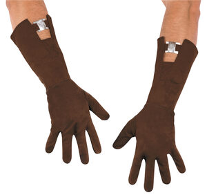 Retro Captain America Adult Gloves