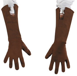 Retro Captain America Child Gloves